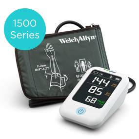 Welch Allyn Home 1500 Series Blood Pressure Monitor with simple smartphone connectivity