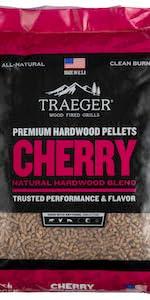 cherry hardwood pellets