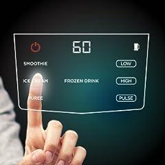 Touchscreen display of Ninja Smart Screen combo