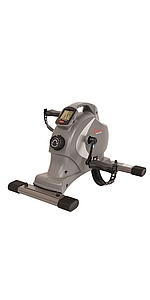 Sunny Health & Fitness Fully Assembled Magnetic Under Desk / Stand Up Elliptical Machine