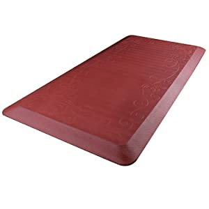 Amazon Com Cook N Home Anti Fatigue Comfort Mat 39 X 20 Red 3 4