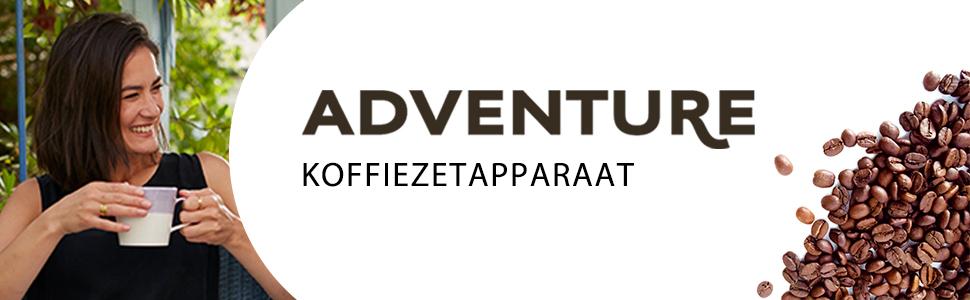 Russell Hobbs 24010-56, Adventure Koffiezetapparaat Glazen Kan