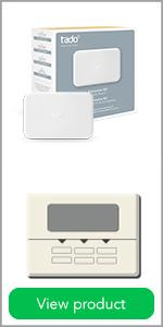 tado extension kit, wireless receiver for smart thermostat