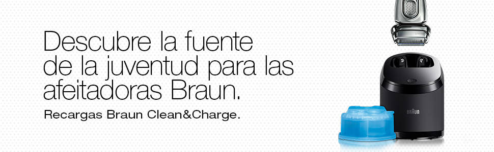 Braun Series 3 32S - Cabezal de Recambio para Afeitadora Eléctrica Hombre, Plata (El embalaje puede variar): Amazon.es: Salud y cuidado personal