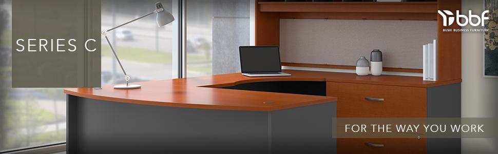 Bush Business Furniture, Series C, Furniture, Modular Furniture, American  Furniture, Made