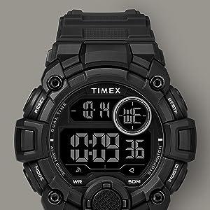 Timex Mens A-Game DGTL 50mm Watch