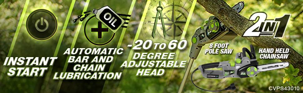 Earthwise Multi Tool Instruction Banner