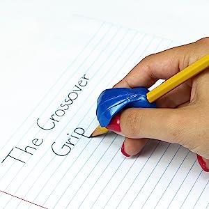 pencil grip, handwriting