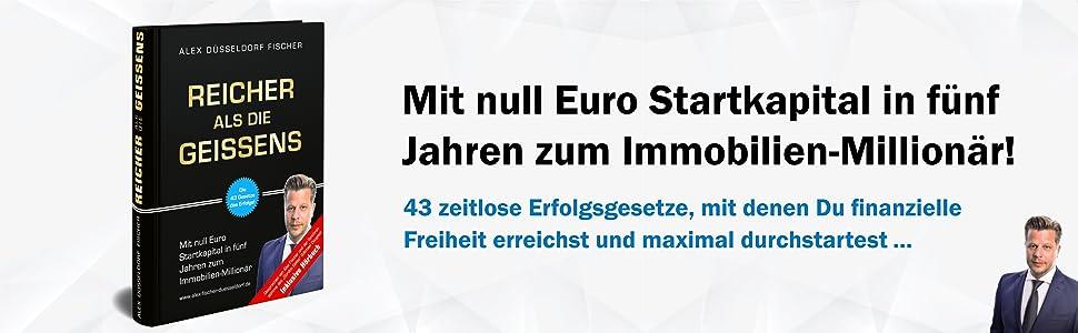 Immobilien Geld Fonds Alex Düsseldorf Fischer Bodo Schäfer Dirk Kreuter Persönlichkeitsentwicklung