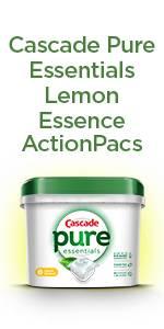 Cascade Pure Essentials Lemon Essence ActionPacs