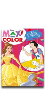 Disney maxi super color marvel star wars lucas spider man avengers