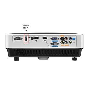 "BenQ MW632ST - Proyector DLP Tiro Corto (65"" a 1 m, WXGA, Zoom 1.2 ..."