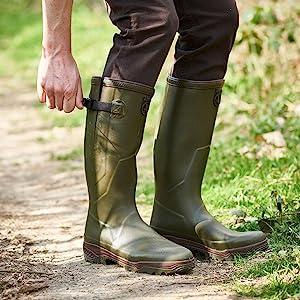 Chaussures de Chasse Mixte Adulte Aigle Parcours 2 Botillon
