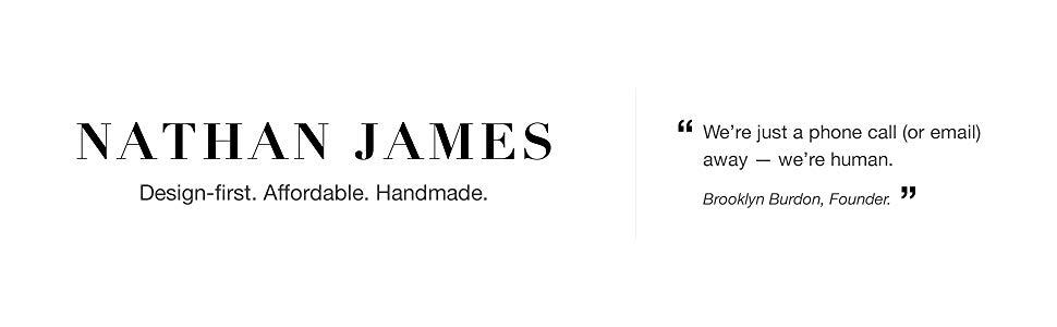 Amazon.com: Mesa de madera Nathan James y almacenamiento ...