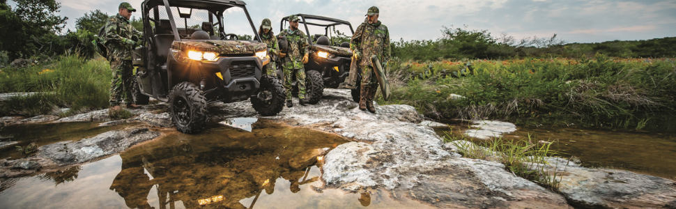 can am off road lifestyle hunting ATV