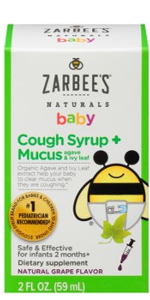 zarbees, natural baby, soothing, chest rub, beeswax, eucalyptus, lavender, natural ingredients