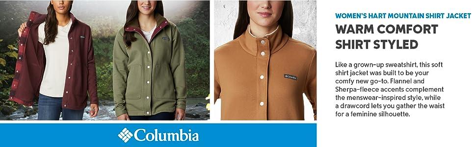Columbia WOmen's Hart Mountain Shirt Jacket