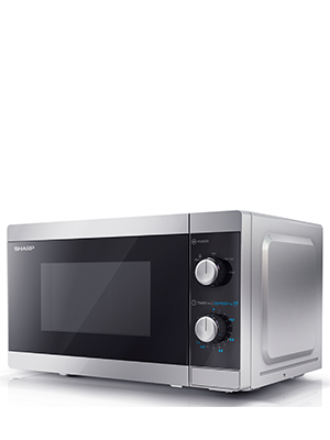 Sharp Yc Ms01u S 800w Solo Microwave Oven With 20 L