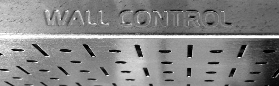 Galvanized Pegboard, Metallic Pegboard, Silver Pegboard, Metal Pegboard, Wall Control Pegboard