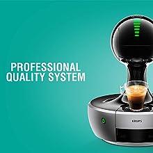 NESCAFE DOLCE GUSTO COFFEE, COFFEE MACHINE, CAPSULES, ESPRESSO, POD, professional quality system