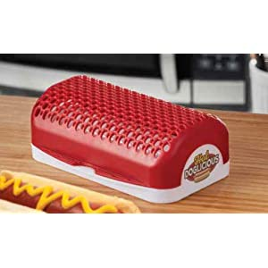 Amazon.com: Hot Doglicious Microwave Hot Dog Cooker