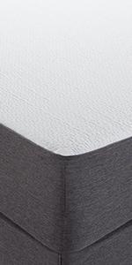 Queen 10.5 Inch cool gel memory foam mattress, gel mattress queen, best firm cool gel mattress