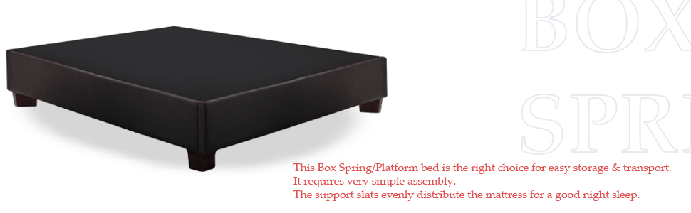 Amazon.com: Cama de muelles, plataforma para colchón ...
