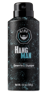 hang man showerless shampoo