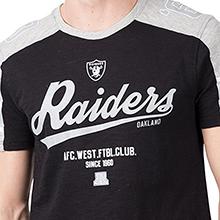 Icer Brands NFL Men's T-Shirt Vintage Varsity Stripe Short Sleeve Tee Shirt, Team Logo Color