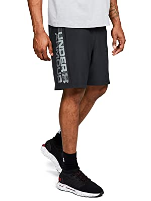 Pantalones de hombre Under Armour Woven Graphic Wordmark Shorts