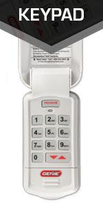 Genie 3 Button Garage Door Opener Remote Controls Up To