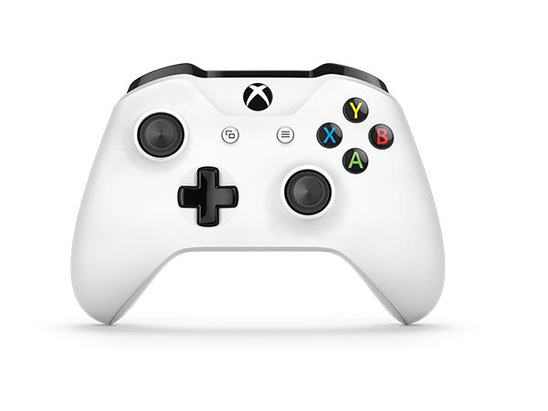 Microsoft - Mando Inalámbrico, Blanco (PC, Xbox One S): Microsoft: Amazon.es: Videojuegos