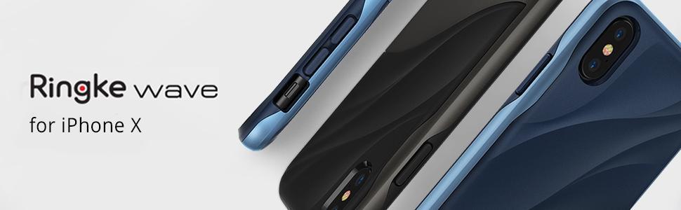 Huse Ringke Wave pentru iPhone X