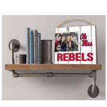 Mississippi Rebels Weathered Logo Clip-It Photo Frame