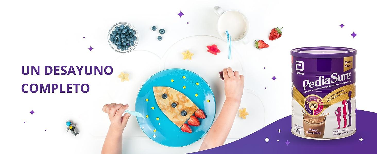 PediaSure Complemento Alimenticio para Niños, Sabor Chocolate ...