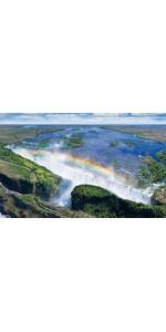 1000ピース ジグソーパズル 世界の絶景 ヴィクトリアの滝-ザンビア/ジンバブエ