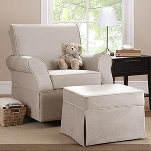 Baby-Relax-Kelcie-Swivel-Glider-and-Ottoman-Set- & Amazon.com: Baby Relax The Kelcie Nursery Swivel Glider Chair and ...