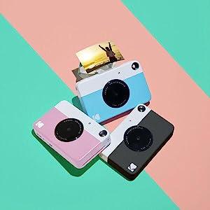 3 printomatic cameras