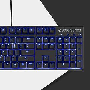 steelseries apex M500 teclado mecánico para juegos