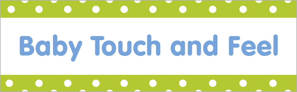 Promotional image for DK's Baby Touch and Feel series