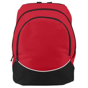 Augusta Sportswear Product Measurements Large Tri-Color BackPack Activewear Luggage Travel
