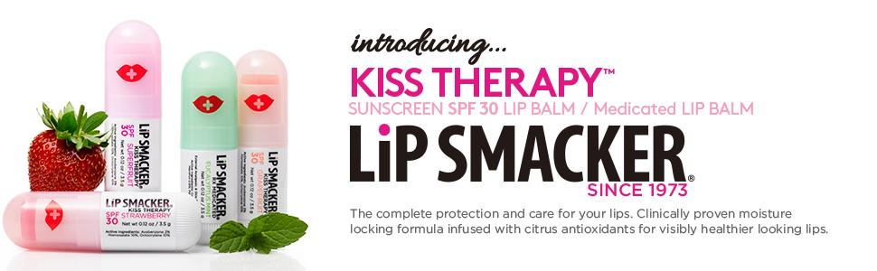Amazon.com: Lip Smacker Kiss Therapy Lip Balm 4 Pack, 0.48 Ounce ...