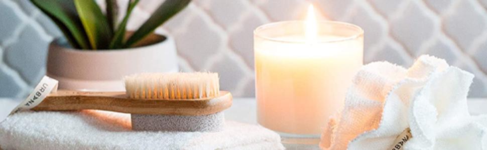 loofah, exfoliation,scrubber, washcloth, bath spa, salon, rejuvenation, self care, home care