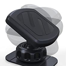 360 degree adjustable swivel head