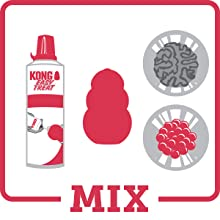 Mix ingredients for your KONG