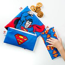 superman reusable snack bags