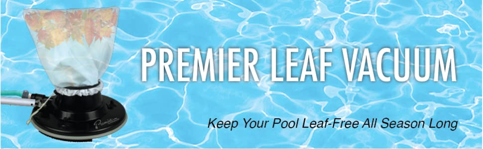 Premier Leaf Swimming Pool Vacuum