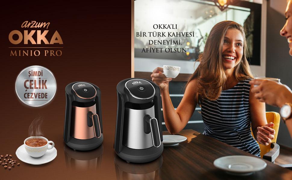 OKKA Minio Pro Türk Kahvesi Makinesi