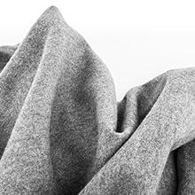 Zapatillas de estar por casa de fieltro suave y cálido, no araña, sin muesing, lana de fieltro