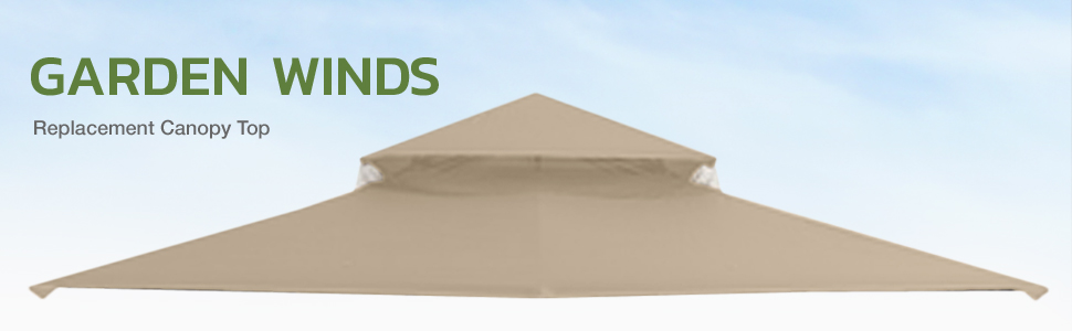Garden Winds replacement canopy top cover canopy